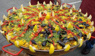 Paella, The National Dish Of Spain.